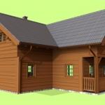 Dřevostavba RD1
