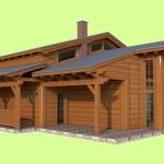 Dřevostavba RD2
